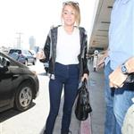 Miley Cyrus seen with her engagement ring at LAX 116860