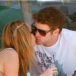 Miley Cyrus and Liam Hemsworth have a romantic lunch in Toluca Lake 91581