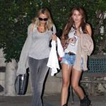Miley Cyrus out with her mom 57020