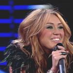 Miley Cyrus girl kiss on Britain's Got Talent June 2010 62535