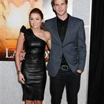 Miley Cyrus with Liam Hemsworth at The Last Song premiere 57614