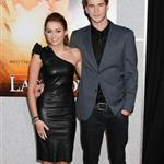 Miley Cyrus with Liam Hemsworth at The Last Song premiere 57615