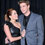 Miley Cyrus with Liam Hemsworth at The Last Song premiere 57621