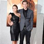 Miley Cyrus with Liam Hemsworth at The Last Song premiere 57623