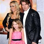 The Cyrus family at The Last Song premiere 57624