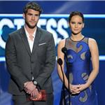 Liam Hemsworth and Jennifer Lawrence at the 2012 People's Choice Awards 102562