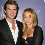 Liam Hemsworth and Miley Cyrus at the Australians In Film Awards & Benefit Dinner 2012 119337