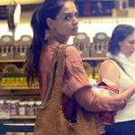 Katie Holmes out shopping at Whole Foods in New York today 119891