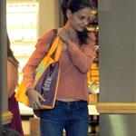 Katie Holmes out shopping at Whole Foods in New York today 119888
