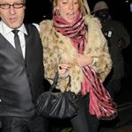 Sienna Miller late night with Cillian Murphy at Groucho Club 30767