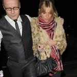 Sienna Miller late night with Cillian Murphy at Groucho Club 30769