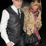 Sienna Miller late night with Cillian Murphy at Groucho Club 30770