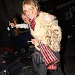 Sienna Miller late night with Cillian Murphy at Groucho Club 30758