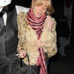 Sienna Miller late night with Cillian Murphy at Groucho Club 30764
