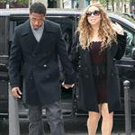 Mariah Carey and Nick Cannon shop in Paris 112697