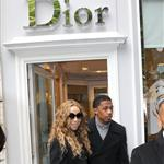 Mariah Carey and Nick Cannon shop in Paris 112703