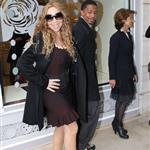 Mariah Carey and Nick Cannon shop in Paris 112706