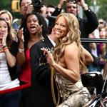 Mariah Carey shoots Obsessed video in New York 42006