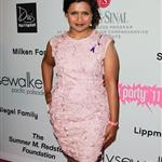 Mindy Kaling attends the Pink Party '11 Hosted By Jennifer Garner To Benefit Cedars-Sinai Women's Cancer Program at Drai's Hollywood on September 10, 2011 94983