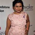 Mindy Kaling attends the Pink Party '11 Hosted By Jennifer Garner To Benefit Cedars-Sinai Women's Cancer Program at Drai's Hollywood on September 10, 2011 94985