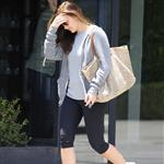 Minka Kelly leaves a hair salon in Beverly Hills 117585