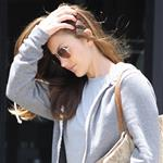 Minka Kelly leaves a hair salon in Beverly Hills 117588