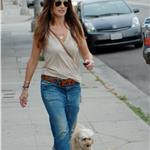 Minka Kelly hot in boyfriend jeans 83807