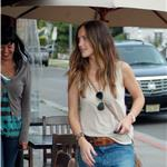 Minka Kelly hot in boyfriend jeans 83809