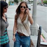 Minka Kelly hot in boyfriend jeans 83810