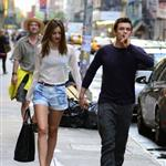 Miranda Kerr and Orlando Bloom hold hands in New York 118610