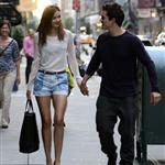 Miranda Kerr and Orlando Bloom hold hands in New York 118615