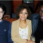 Iwan Rheon, Antonia Thomas and Nathan Stewart-Jarrett at a VIP Gala screening of Shame 102342