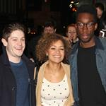 Iwan Rheon, Antonia Thomas and Nathan Stewart-Jarrett at a VIP Gala screening of Shame 102356
