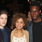 Iwan Rheon, Antonia Thomas and Nathan Stewart-Jarrett at a VIP Gala screening of Shame 102358
