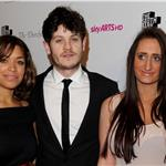 Antonia Thomas,Iwan Rheon and Lauren Socha at the South Bank Sky Arts Awards  77537