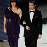 Matthew Broderick and Molly Ringwald  during John Hughes tribute at the Oscars 2010  56273