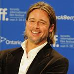 TIFF Photos: Brad Pitt at Moneyball press conference. Photos from Jason Merritt/Gettyimages.com   93754