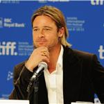 TIFF Photos: Brad Pitt at Moneyball press conference. Photos from Jason Merritt/Gettyimages.com   93755