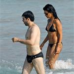 Monica Cruz on the beach in Ibiza 42785