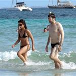 Monica Cruz on the beach in Ibiza 42784