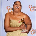 Mo'nique wins Golden Globe 2010  53450