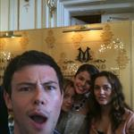 Cory Monteith with Selena Gomez and Leighton Meester in Paris for Monte Carlo 63882