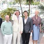 Jason Schwartzman, Bruce Willis, Wes Anderson, Edward Norton, Tilda Swinton and Bill Murray  at the Moonrise Kingdom photocall  during the 65th Cannes Film Festival  114657