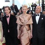 Kara Hayward, Wes Anderson, Tilda Swinton, Bruce Willis and Edward Norton at the Moonrise Kingdom premiere - during the Opening ceremony of the 65th Cannes Film Festival 114746