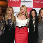 Joy Bryant, Rachel Zoe, Ariel Foxman, Amanda de Cadenet, Demi Moore and Kelly Preston at InStyle's celebration and the launch of 'The Conversation with Amanda De Cadenet' 111557