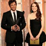 Rob Lowe and Julianne Moore at the 2012 Golden Globe Awards 102881