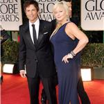 Rob Lowe at the 2012 Golden Globe Awards with wife Sheryl Berkoff 102888