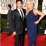 Rob Lowe at the 2012 Golden Globe Awards with wife Sheryl Berkoff 102889