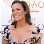 Mandy Moore has orange dirty face at Tao in Vegas 37273