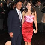Liz Hurley (with Arun Nayar) at the London premiere of Did You Hear About the Morgans  51881
